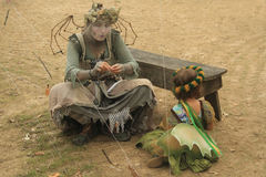 Bristol Renaissance Faire, Wisconsin USA. Kenosha, WI - July 26: Bristol Renaissance Faire on July 26, 2015 in Wisconsin. Live action fantasy-play game 16th Royalty Free Stock Photo
