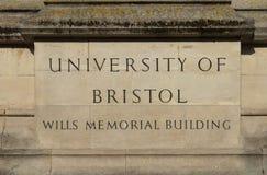 Bristol, Royaume-Uni, le 21 février 2019, veut la tour de construction commémorative à l'université de Bristol photo stock