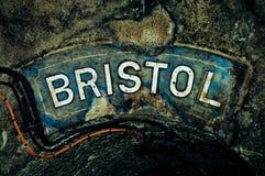 Bristol, scrittura variopinta Fotografia Stock Libera da Diritti