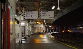 Bristol Temple Meads Station Royalty Free Stock Images