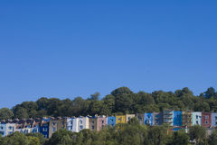 Bristol town houses stock photo