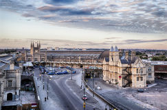 Bristol train station Stock Photos