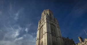 Bristol, United Kingdom, 21st February 2019, Wills Memorial Building Tower at the University of Bristol stock photos
