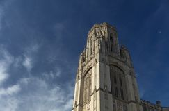 Bristol, United Kingdom, 21st February 2019, Wills Memorial Building Tower at the University of Bristol stock photography
