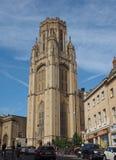 Bristol University Wills Memorial i Bristol fotografering för bildbyråer