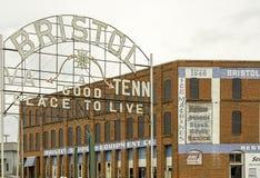 Bristol-Zeichen Stockbilder