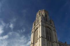 Bristol, Zjednoczone Królestwo, 21st 2019 Luty, wola budynku Pamiątkowy wierza przy uniwersytetem Bristol fotografia stock