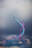 Británicos Royal Air Force 'flechas rojas' Imágenes de archivo libres de regalías