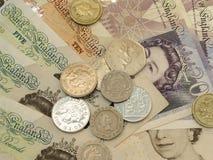 Británicos Sterling Pounds Foto de archivo