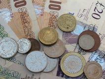 Británicos Sterling Pounds Foto de archivo libre de regalías