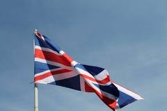 Brit flag flying high Stock Image