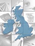 britain affär Arkivbilder