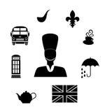 The britain black Royalty Free Stock Photos