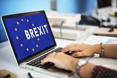 Britain EU Brexit Referendum Concept Stock Images