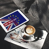 Britain EU Brexit Referendum Concept Royalty Free Stock Photos