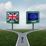Britain European Union Decision Stock Photography