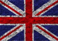 Britain flag. On white background vector illustration
