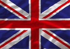 Britain flag. On white background stock illustration