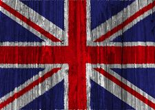 Britain flag. On white background royalty free illustration