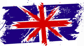 Britain grunge flag Stock Photography