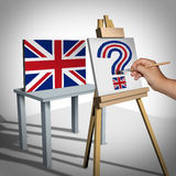 Britain Question Concept Stock Images