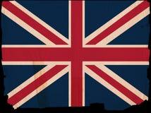 britain rocznik chorągwiany wielki stary Obrazy Stock
