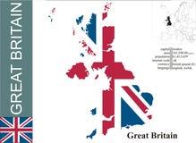 britain wielki Zdjęcie Royalty Free