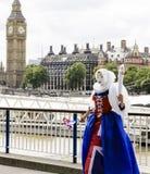 Britannia和大笨钟 库存图片
