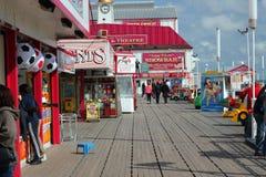 britannia巨大码头yarmouth 免版税库存图片