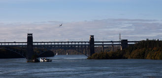 Britannia Bridge Stock Photos