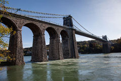 Britannia Bridge Royalty Free Stock Photos