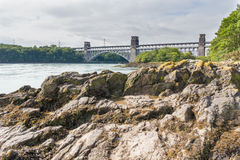 Britannia bridge Stock Image