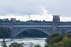 Britannia Bridge, North Wales Royalty Free Stock Image