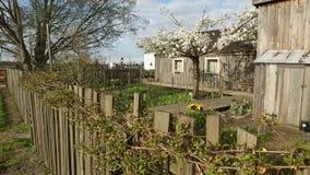 Britannia-Erbwerft-Garten, Richmond stock footage