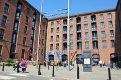 Britannia Pavilion, Liverpool. Stock Image