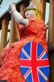 Britannia-Statue Lizenzfreie Stockbilder