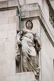 Britannia Statue, City of London Royalty Free Stock Image