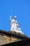 Britannia statue, Liverpool. Stock Image