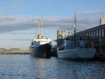 britanniaedinburgh kunglig yacht Arkivbilder