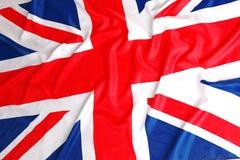 Britannici diminuiscono, Union Jack fotografia stock libera da diritti