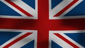 Britannien flagga stock illustrationer