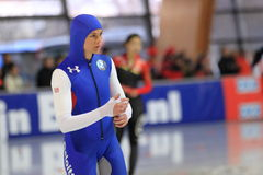 Britanny Bowe - us speed skater Royalty Free Stock Images