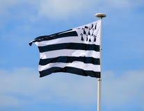 Britanny flag Stock Photos
