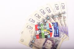 Briten 20 Pfund Lizenzfreie Stockbilder
