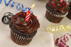 Brithday cupcakes Royalty Free Stock Photo