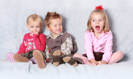 Brither and sisters Stock Photography