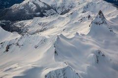 Britisch-Columbia-Berge Lizenzfreies Stockfoto