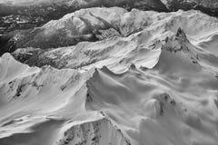 Britisch-Columbia-Berge Lizenzfreies Stockbild