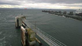 Britisch-Columbia-Küstenlinie Stockfotos