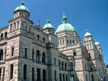 Britisch-Columbia-Parlaments-Gebäude Stockbild